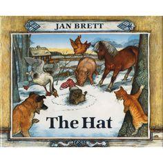 jan brett illustrations | The Hat by Jan Brett