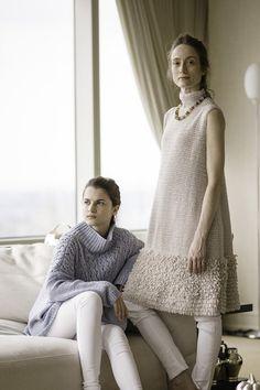 Irene Sweater and Vanderbilt Vest Spring/Summer 2016
