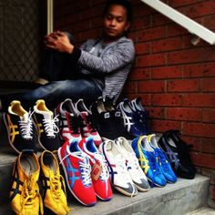 Thanks @Nix Beingsuperb for sharing your #OnitsukaTiger collection with us. Share yours by tagging #OnitsukaTiger.