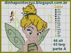 Tinker Bell pattern by Dinha Ponto Cruz
