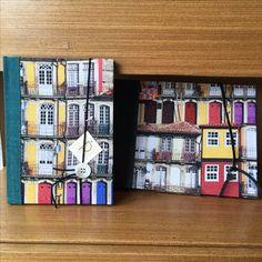 Caderno e álbum artesanal