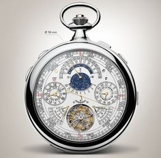 Vacheron Constantin Reference 57260 Pocket Watch Is World's Most Complicated Watch Ever Made Watch Releases