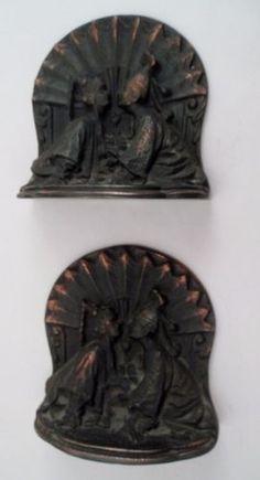 Bron-Met-Bronmet-Cast-Bronze-Art-Deco-Orientalism-Bookends-Kissing-Asian-Lovers