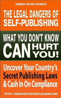 To be a writer, read. To publish, read this. All indie authors should. I've been self publishing for years and didn't know about these publishing laws. #indie #selfpublish