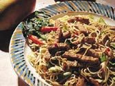 Indonesian Bamie with Pork Loin - FamilyTime.com -