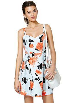 MinkPink Queen's Garden Dress