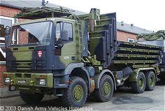 IVECO Eurotrakker MP260E37W 6X6 porta-ponti: esercito danese