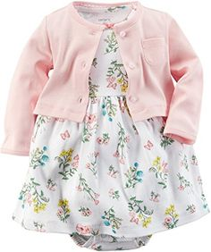 Carter's Baby Girls' 2 Piece Floral Dress Set (Baby) | shopswell