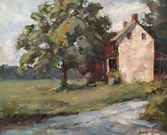 Birmingham Farm by Jacalyn Beam Oil ~ 9 x 12