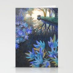 "Stationery Cards ""Ruisseau de William"" - Anastassia Elias"