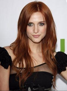 Red hair green eyes
