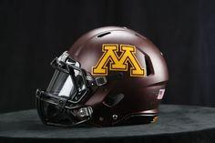 mn gophers football   The Minnesota Golden Gophers have new football helmets:
