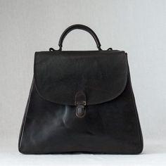 Small Lock Bag Brown
