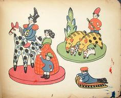 In 1917, the same year of the the February and October Russian revolutions,  Denshin publishedViatskaïa bliniannaïa igrouchka v rissounkakh,the first illustrated catalogue  of clay toys from the Vyatka region.The book features fifty plateshand-colored by the authorand  lithographic text printed in sepia from his calligraphy