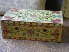 Vintage Tin Box Kugler Hendrik Gerbeaud Paris by rosiemoonbeams, $24.00