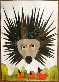 Mauriquices: Um ouriço com óculos...
