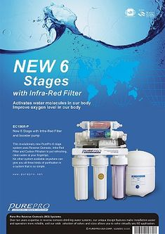 PurePro® Reverse Osmosis Water Filter Systems - US Manufacturer Reverse Osmosis Water Filter, Reverse Osmosis System, Whole House Water Filter, Water Ionizer, Box Water, Blue Filter, Water Molecule, Water Quality, Water Systems