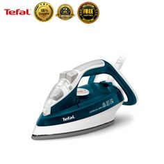 Tefal FV4484 Garment Steamer Fabric Powerful Steam Iron Clothes Laundry New #Tefal