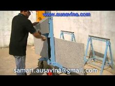 Elevating Hand Cart Ausavina for Stone, Granite, construction, tools, eq...