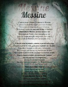 Messine - Damien Saez.