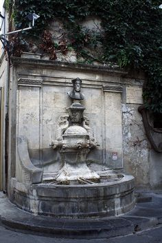 Fontaine de Nostradamus ~ Saint-Rémy-de-Provence by Jack 1954 (Merci pour la visite), via Flickr