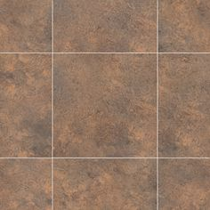 """This complex mix of warm earth tones with charcoal lowlights gives a traditional fired terracotta look to this popular 16"""" Ceramic effect floor tile. Don't forget to browse our range of grout strips, feature strips and borders to create a really individual look. - Karndean Design Flooring, Grout, Earth Tones, Plank, Terracotta, Don't Forget, Tile Floor, Charcoal, Range"""