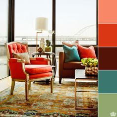 A colorful piece can save your decor.