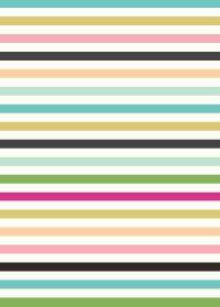 perfect stripes...: gift wrap ~ Caroline Gardner