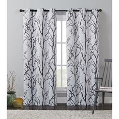 Create darkness in any room with the Keyes printed blackout panel. This grommet panel is energy efficient and reduces outside noise. This panel is constructed with a grommet top for convenient installation. Bedroom Diy, Floral Room, Cool Curtains, Curtains, Panel Curtains, Drapes Curtains, Colorful Curtains, Bright Rooms, Blackout Curtains