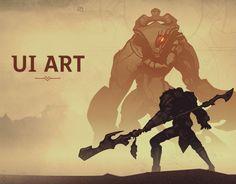 다음 @Behance 프로젝트 확인: \u201cUI ART {for an UNANNOUNCED video game}\u201d https://www.behance.net/gallery/42418323/UI-ART-for-an-UNANNOUNCED-video-game