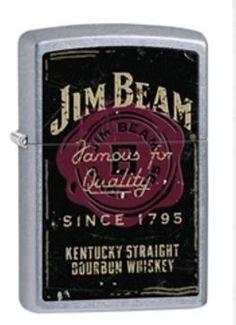 Jim Beam® Street Chrome Zippo Lighter
