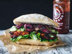 Rezept: Veganes Barbecue-Sandwich zubereiten
