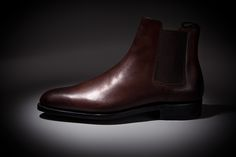 LodinG - Bottines - Chelsea marron fonce box - Shoes & Shirts