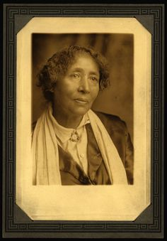 Black, Chicana, and First Nations radical socialist and anarchist labor organizer Lucy E. [González or Gonzales] Parsons (1853-1942) ca. 1920.