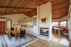 double sided fireplace idea
