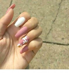 Best Coffin Nail & Gel Nail Designs For Summer & Fall 2019 - Best Coffi. - Best Coffin Nail & Gel Nail Designs For Summer & Fall 2019 – Best Coffin Nail & Gel Nail - White Acrylic Nails, Summer Acrylic Nails, Best Acrylic Nails, Acrylic Nail Art, Nail Summer, Acrylic Nail Designs For Summer, Aycrlic Nails, Swag Nails, Coffin Nails