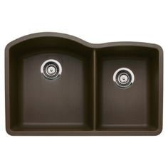 BLANCO�Diamond Double-Basin Undermount Composite Kitchen Sink
