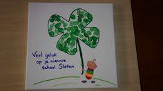 Afscheidscadeau kind nieuwe school