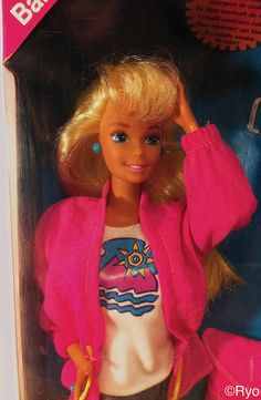 I had this Barbie when I was little.