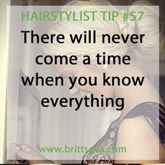 Hairstylist Tip #57