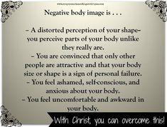 Overcoming negative body image