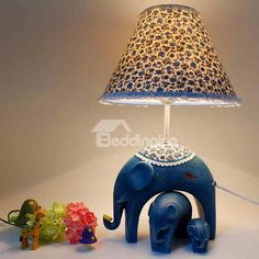 Creative Elephant Countryside Style #Lamps for #Room #Decoration