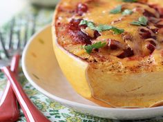 Cheese and Bacon topped butternut .: The Banting Chef :. #banting #lchf