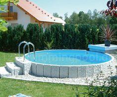 stahlwand rundpool: so einfach bauen sie ihren swimmingpool selbst, Hause und garten