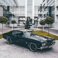 The Chevrolet Chevelle is a mid-sized automobile that was produced by Chevrolet in three generations for the 1964 through 1978 model years. #chevy #chevelle #classic car #best car 1970 Chevelle, Chevrolet Chevelle, Datsun 240z, American Classic Cars, Modified Cars, Hot Cars, Muscle Cars, Luxury Cars, Super Cars