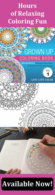 This Grown Up Coloring Book Adult PagesFree ColoringColoring BooksColouringMandala ColoringMandala DesignArt