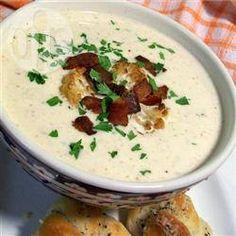 Roasted Cauliflower Soup @ allrecipes.co.uk