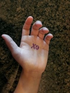 Put a small 'XO' on your child's palm before school. During the day, when s/he needs or misses you, they can put their palm to their cheek for a hug & kiss from mommy.