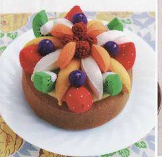 Cakes. Libro japonés Felted Sweet Treats