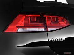 See all 83 photos for the 2015 Volkswagen Golf exterior from U. Vw Golf Tdi, Volkswagen Golf, Tail Light, Auto Design, Exterior, Golf Tips, Vehicles, Car, Detail